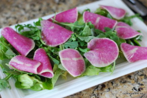 watermelon radish salad (6)