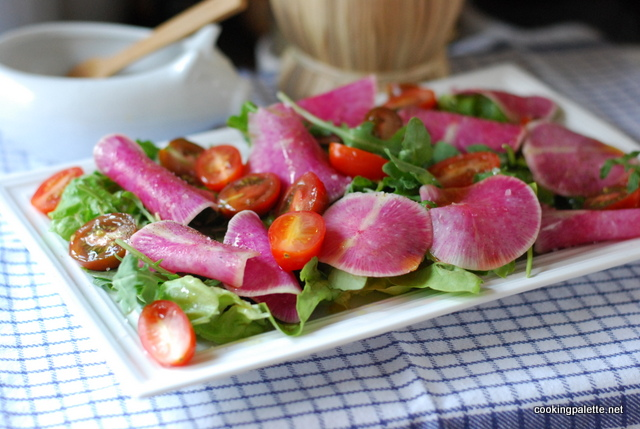 watermelon radish salad (8)