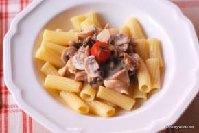 creamy chicken mushroom pasta (13)