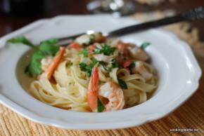 shrimp scampi pasta (13)
