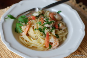 shrimp scampi pasta (14)