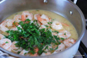 shrimp scampi pasta (8)