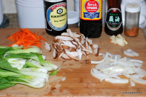 chicken bok choy stir fry (1)