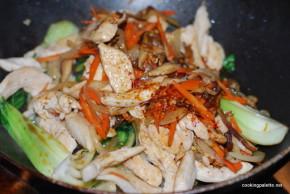 chicken bok choy stir fry (12)