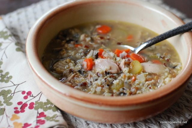 grainy turkey chicken soup (16)