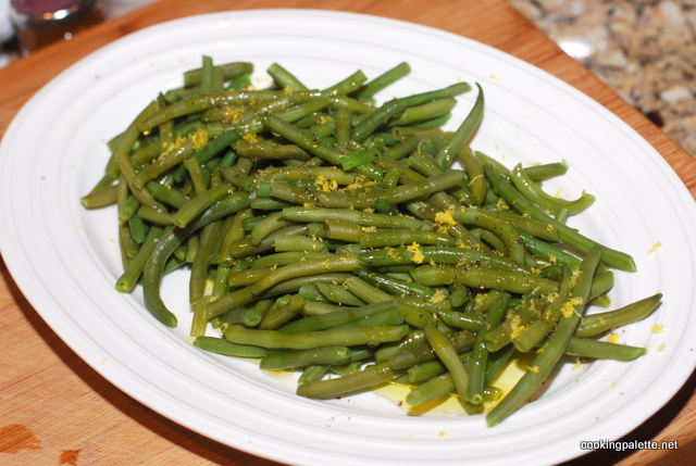 green beans with walnut oil and lemon zest (5)
