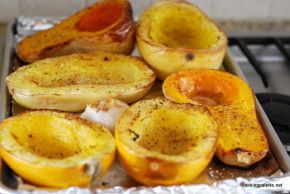winter squash with garlic roasted (15)