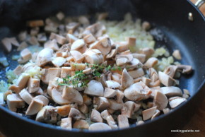 mushroom ragout polenta medalions (3)