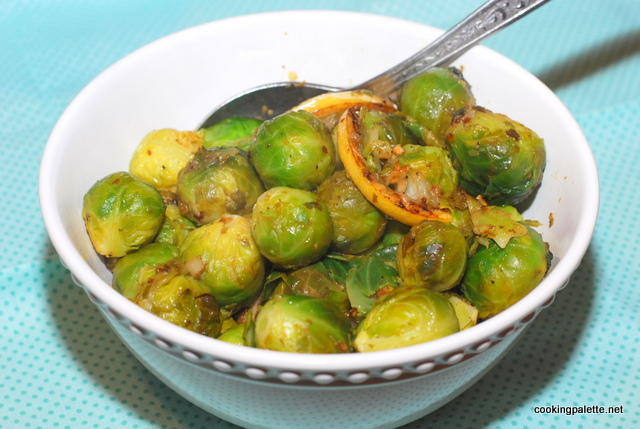 lemony garlicy brussel sprouts (12)