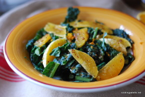 kale orange salad orange vinaigrette (6)