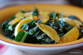 kale orange salad orange vinaigrette (8)
