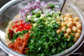 cous cous chick pea salad (3)