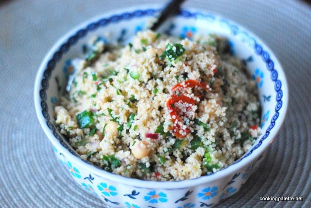 cous cous chick pea salad (9)