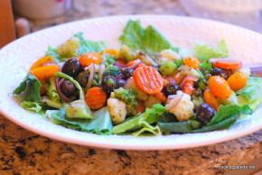 quick marinated vegetable salad (11)
