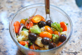 quick marinated vegetable salad (5)