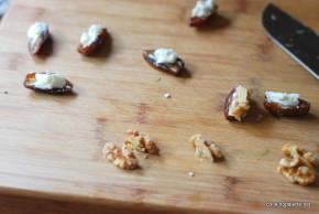 goat cheese walnuts stuffed dates (2)