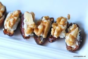 goat cheese walnuts stuffed dates (4)