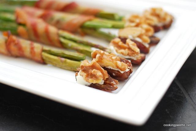 goat cheese walnuts stuffed dates (9)