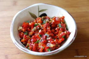roasted pepper and garlic relish (6)
